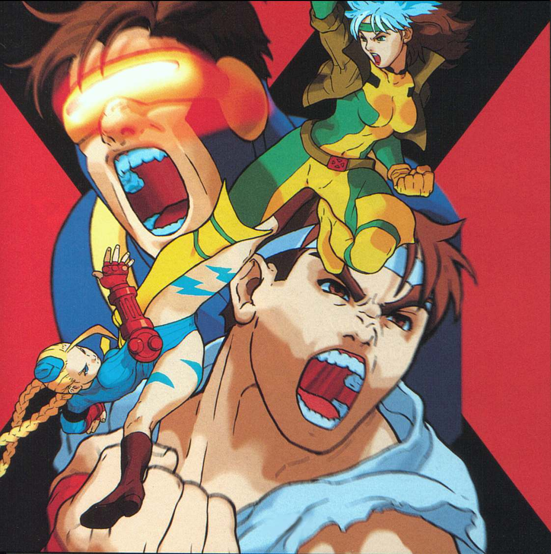 X-men vs street fighter 3